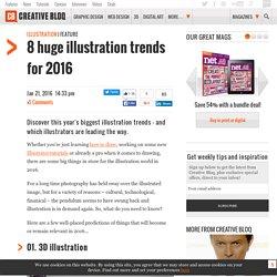8 huge illustration trends for 2016