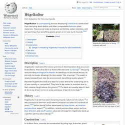 Hügelkultur - Wikipedia