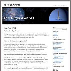The Hugo Awards : Hugo Award FAQ
