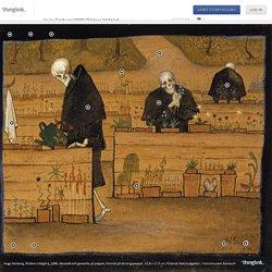 Hugo Simberg (1896) Dödens trädgård (klicka på den interaktiva bilden)
