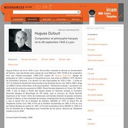 Hugues Dufourt
