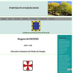 Hugues de Payns, Grand maître de l'Ordre sdu temple