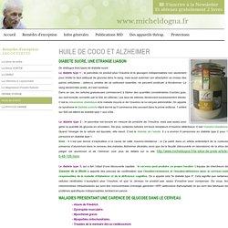 Huile de COCO et pas sucre - Michel Dogna