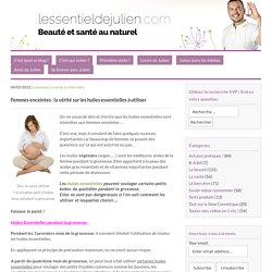 Les huiles essentielles pendant la grossesse