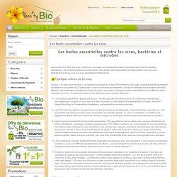 Les huiles essentielles contre les virus - Penntybio