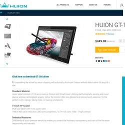 huion GT-190 Pen monitor