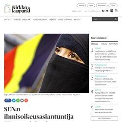 """SEN:n ihmisoikeusasiantuntija EU-tuomioistuimen huivipäätöksestä: """"Uskonnollisesti pukeutuvien sulkeminen pois ei ole neutraalia"""" - Kirkko ja kaupunki"""