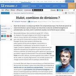 Politique : Hulot, combien de divisions ?