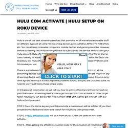Hulu Setup on Roku Device