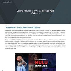 Hulu plus Brasil