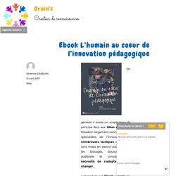 Ebook L'humain au coeur de l'innovation pédagogique
