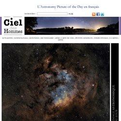 Galaxies sur la corde raide - L'image d'astronomie du jour - APO