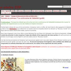 Humains ou animaux ? La controverse de Valladolid (guidé) - e-stoire 209
