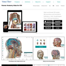 Human Anatomy Atlas for iPad/iPhone