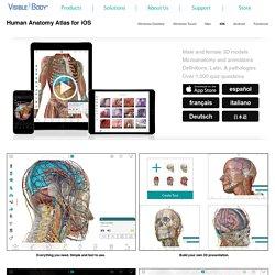 Human Anatomy Atlas for iPad/iPhone