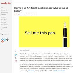 Human vs Artificial Intelligence: Who Wins at Sales?