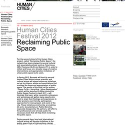Human Cities: Events