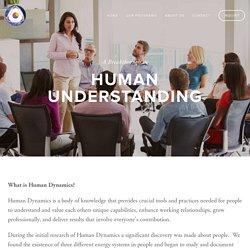 What is Human Dynamics — Human Dynamics International