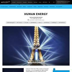 HUMAN ENERGY - ArtCOP21