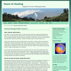 Aura, Human Energy Field, nadis, chakras, subtle bodies