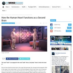 How the Human Heart Functions as a Second Brain