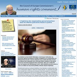 Human Rights Comment : Français