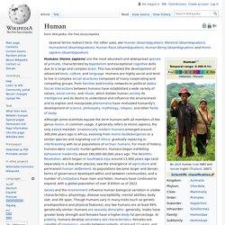 Human - Wikipedia