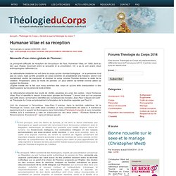 Humanae Vitae et sa réception