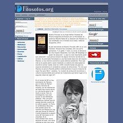 Filosofia y Humanidades - BEATRIZ PRECIADO, Pornotopía - LIBROS - Artículos