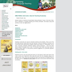 Humanising Language Teaching Magazine for teachers and teacher trainers