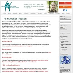 The Humanist Tradition