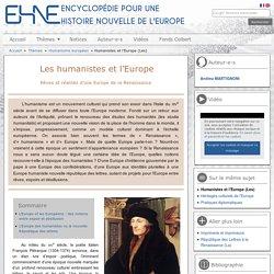 Humanistes et l'Europe (Les)