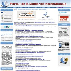 Portail humanitaire ASAH - Actualités - Articles