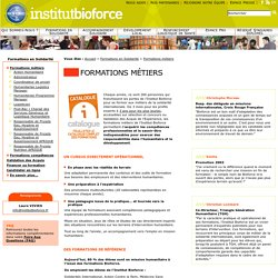 Formation humanitaire INSTITUT BIOFORCE : association humanitaire, départ en mission humanitaire