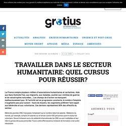 Travailler dans le secteur humanitaire: quel cursus pour réussir? - Grotius International
