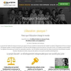 L'éducation dans le monde, actions humanitaires et solidarité internationale - Aide et Action