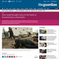 Avi Shlaim: How Israel brought Gaza to the brink of humanitarian catastrophe