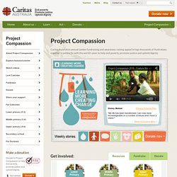 Project Compassion 2016 - Caritas Australia's annual humanitarian fundraising event