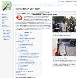 OSM Human- itarian Team