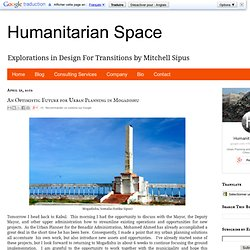 An Optimistic Future for Urban Planning in Mogadishu