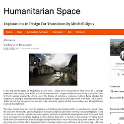 Urban Planning Solutions for Cities in Conflict: En Route to Mogadishu