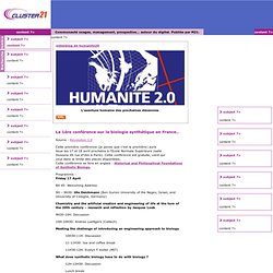Videoblog : humanite20