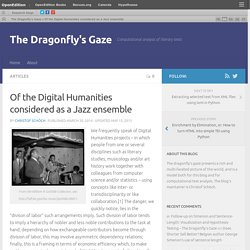 DH as Jazz Ensemble