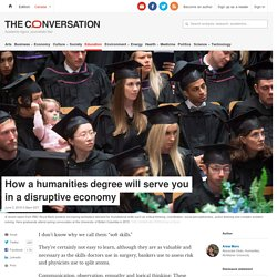 The humanities are becoming more important. Here's why