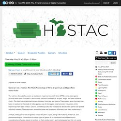 HASTAC 2015: The Art and Science of Digital Humanities: Gathering STEAM: Games and Learning