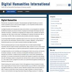 10 – Eléments pour une mise en perspective historique des digital humanities