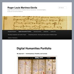 Digital Humanities Portfolio