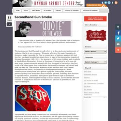 organized religion Archives - Hannah Arendt Center for Politics and HumanitiesHannah Arendt Center for Politics and Humanities