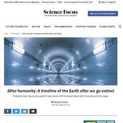 After humanity: A timeline of the Earth after we go extinct