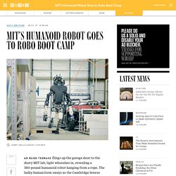 MIT's Humanoid Robot Goes to Robo Boot Camp